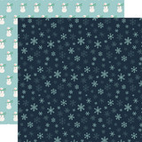 Snow Much Fun: Snowflakes 12x12 Patterned Paper