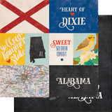 Stateside: Alabama 12x12 Patterned Paper