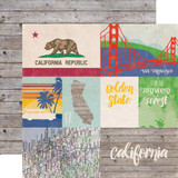 Stateside: California 12x12 Patterned Paper