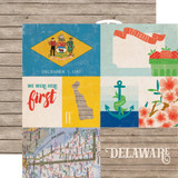 Stateside: Delaware 12x12 Patterned Paper