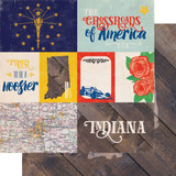 Stateside: Indiana 12x12 Patterned Paper