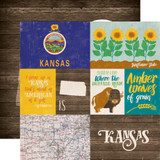 Stateside: Kansas 12x12 Patterned Paper