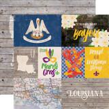 Stateside: Louisana 12x12 Patterned Paper