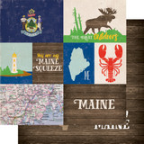 Stateside: Maine 12x12 Patterned Paper