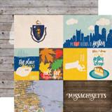 Stateside: Massachusetts 12x12 Patterned Paper