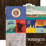 Stateside: Minnesota 12x12 Patterned Paper