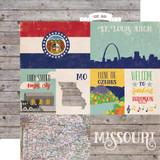 Stateside: Missouri 12x12 Patterned Paper