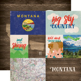 Stateside: Montana 12x12 Patterned Paper