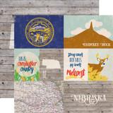 Stateside: Nebraska 12x12 Patterned Paper