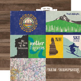 Stateside: New Hampshire 12x12 Patterned Paper