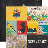 Stateside: New Jersey 12x12 Patterned Paper