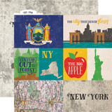 Stateside: New York 12x12 Patterned Paper