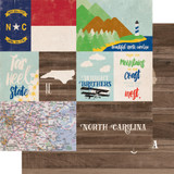 Stateside: North Carolina 12x12 Patterned Paper