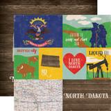 Stateside: North Dakota 12x12 Patterned Paper