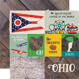 Stateside: Ohio 12x12 Patterned Paper