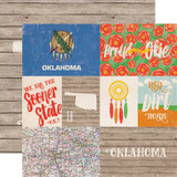 Stateside: Oklahoma 12x12 Patterned Paper