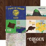 Stateside: Oregon 12x12 Patterned Paper