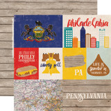 Stateside: Pennsylvania 12x12 Patterned Paper