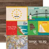Stateside: Rhode Island 12x12 Patterned Paper