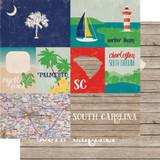 Stateside: South Carolina 12x12 Patterned Paper