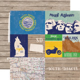 Stateside: South Dakota 12x12 Patterned Paper