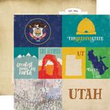 Stateside: Utah 12x12 Patterned Paper