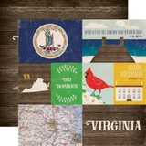 Stateside: Virginia 12x12 Patterned Paper