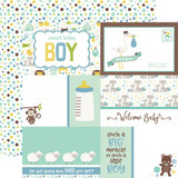 Sweet Baby Boy: Journaling Cards 12x12 Patterned Paper