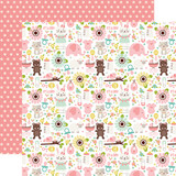 Sweet Baby Girl: It's A Girl 12x12 Patterned Paper