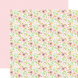 Sweet Baby Girl: Baby Floral 12x12 Patterned Paper