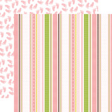 Sweet Baby Girl: Baby Ribbons 12x12 Patterned Paper