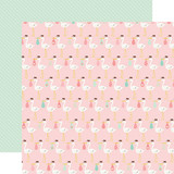 Sweet Baby Girl: Special Delivery 12x12 Patterned Paper