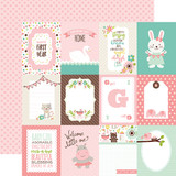Sweet Baby Girl: 3x4 Journaling Cards 12x12 Patterned Paper