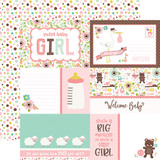 Sweet Baby Girl: Journaling Cards 12x12 Patterned Paper
