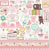 Sweet Baby Girl: Element Sticker Sheet
