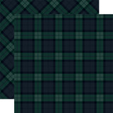 Tartan No. 2: Merry Black Watch 12x12 Patterned Paper