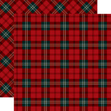 Tartan No. 2: Royal Stewart 12x12 Patterned Paper
