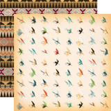 The Great Outdoors: Fish Flies 12x12 Patterned Paper