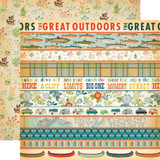 The Great Outdoors: Border Strips 12x12 Patterned Paper