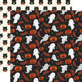 Trick or Treat: Spooky Ghosts 12x12 Patterned Paper