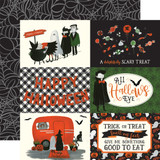 Trick or Treat: 4x6 Journaling Cards 12x12 Patterned Paper