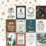 Warm & Cozy: 3x4 Journaling Cards 12x12 Patterned Paper