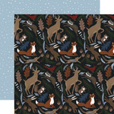 Warm & Cozy: Cozy Animals 12x12 Patterned Paper