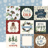 Warm & Cozy: 4x4 Journaling Cards 12x12 Patterned Paper