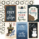 Warm & Cozy: 4x6 Journaling Cards 12x12 Patterned Paper