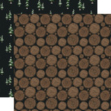 Warm & Cozy: Firewood 12x12 Patterned Paper