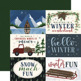Warm & Cozy: 6x4 Journaling Cards 12x12 Patterned Paper