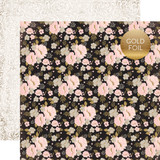 Wedding Bliss: Wedding Floral 12x12 Patterned Paper