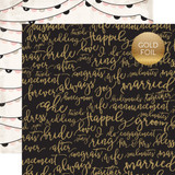 Wedding Bliss: Forever and Always 12x12 Patterned Paper