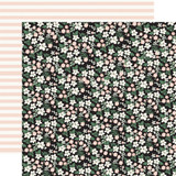 Wedding Day: Wedding Floral 12x12 Patterned Paper